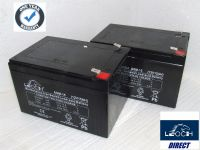 2 x Leoch AGM-15-MOB - 12v 15ah Uprated Mobility AGM Batteries